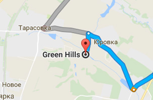The venue and transport connection of Green Hills