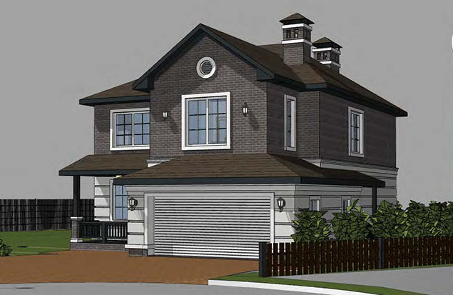 For sale finished house Yorkton at the plot of 13.74 ares.