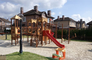 New playground for children at Green Hills