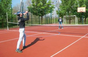 Sports playgrounds and open-air gym for outdoor sports